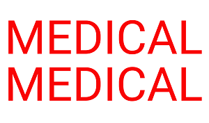 Transfer embleem medical medical